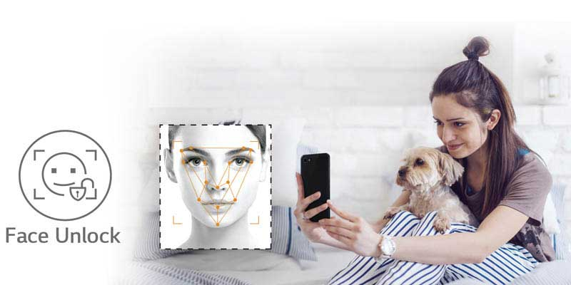 LG Q6 Face Recognition