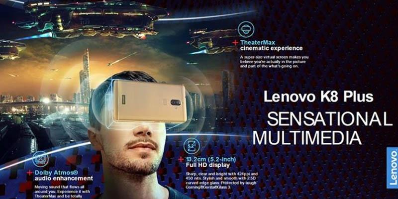 Lenovo K8 Plus Theatermax