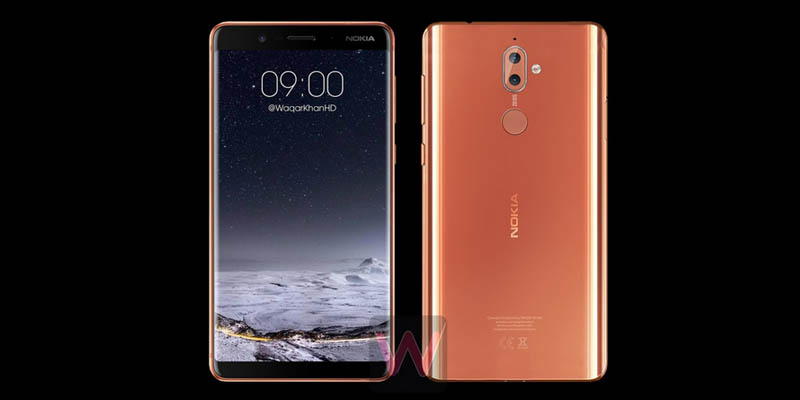 Nokia 9 Render All Bezelless