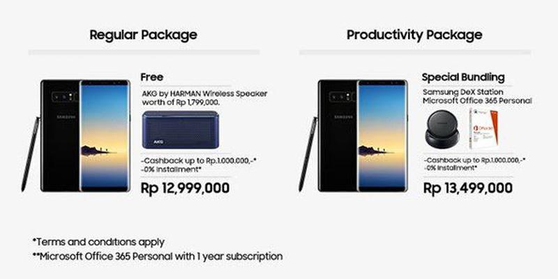 harga note 8 indonesia