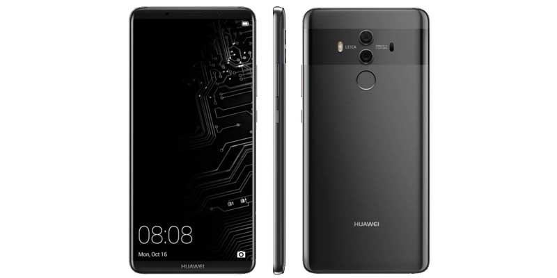 The shape and specifications of Huawei Mate 10 Pro Start Revealed