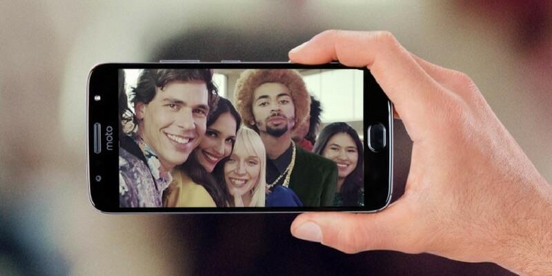 Moto G5S Plus selfie
