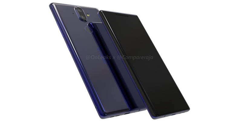 Sheath Design and Viscera Nokia 9 Start Revealed