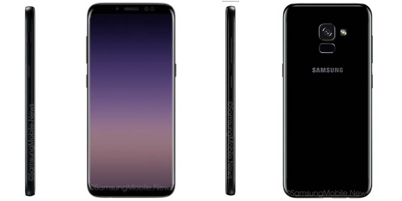 Samsung Galaxy A8 2018 Infinity Display