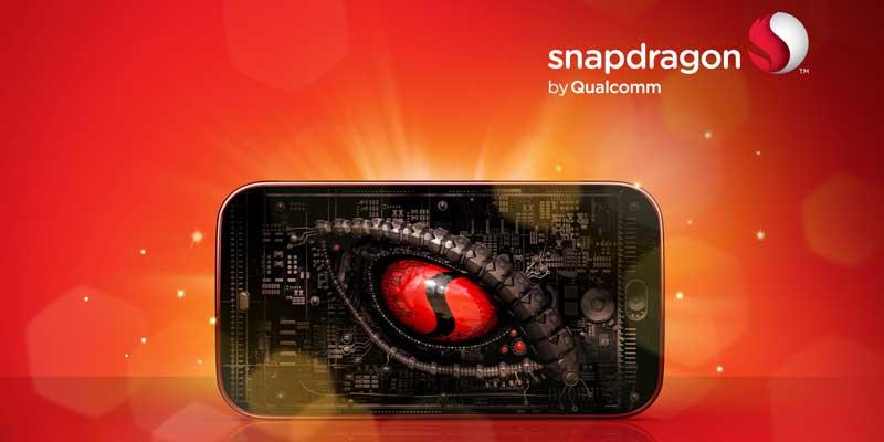 Snapdragon logo monster