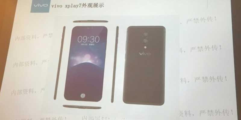 Vivo Xplay 7 Leak Slide