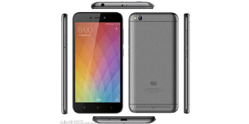 Xiaomi Redmi 5A Leak DL
