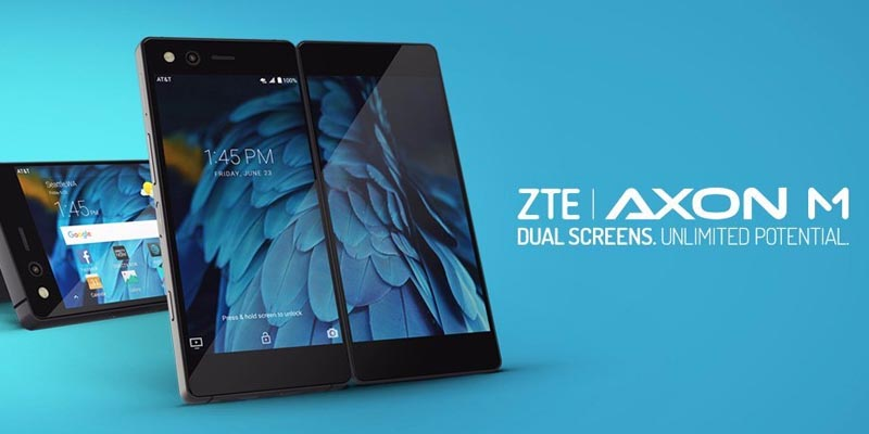 ZTE Release Axon M, Got Two Sized Screen 5.2 Inches