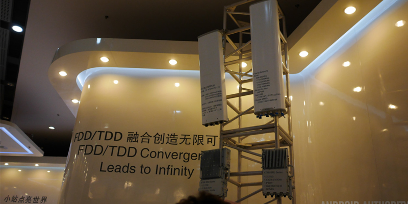 5G TD FDD TDE LTE 4G Connectivity Carrier Network Tower Radio MBB Connected City IoT
