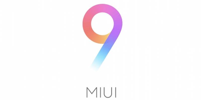 MIUI 9 Logo