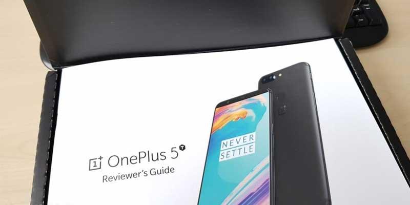 OnePlus 5t leak 1