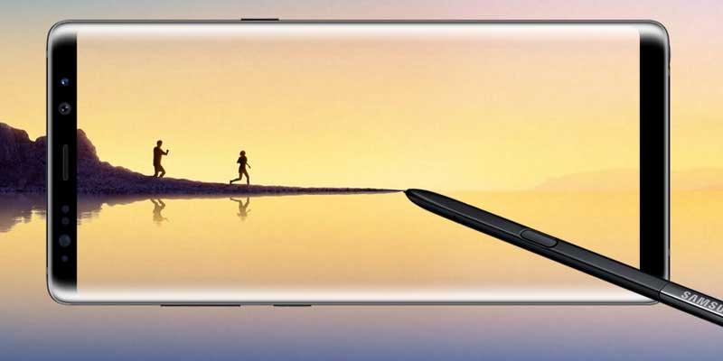 Samsung Galaxy Note 8 Headerz
