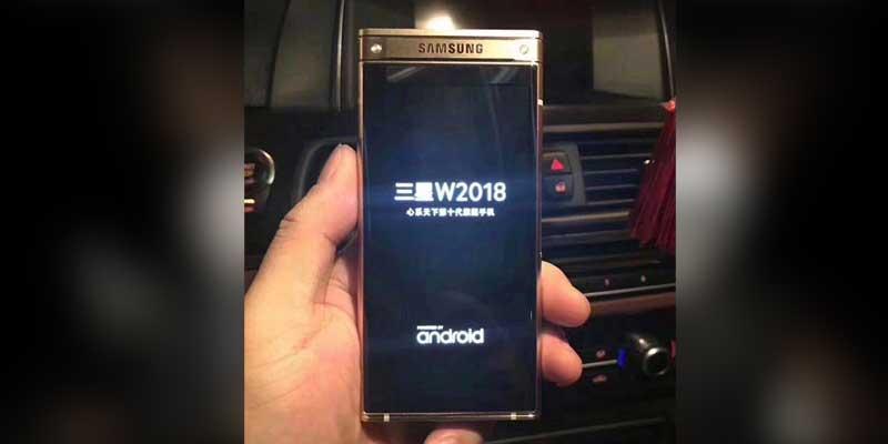 Samsung Galaxy W2018 hape