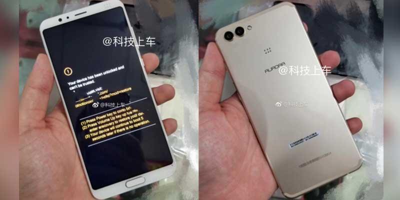 Smartphone Layar Penuh Fingerprint Depan 1