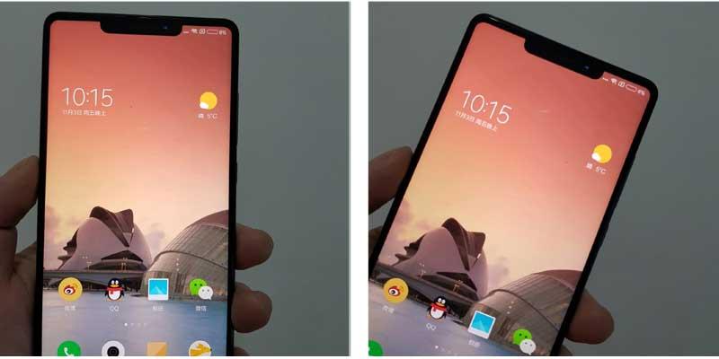 Xiaomi Mi MIX 2s Dua Penampakan