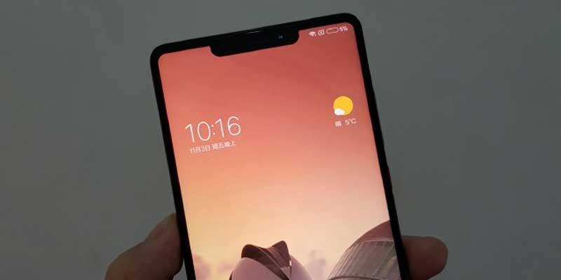 Xiaomi Mi MIX 2s Penampakan