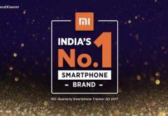 Xiaomi Peringkat 1 India Header 245x170