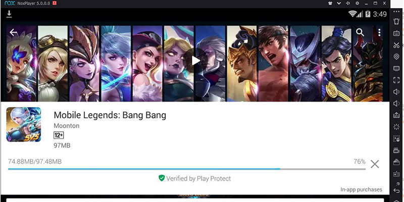 cara Main Mobile Legends di PC 1