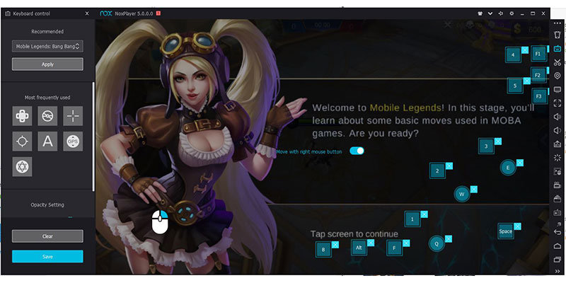 cara Main Mobile Legends di PC 2