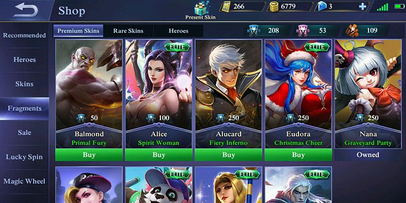 cara mendapatkan skin mobile legends gratis 5