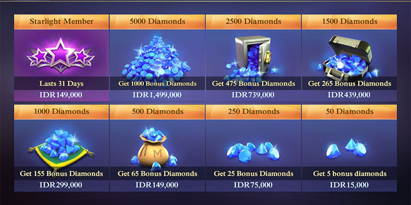 diamond mobile legends gratis banner