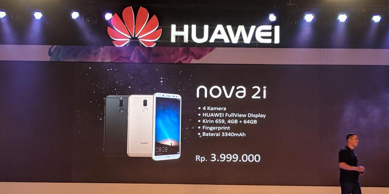 huawei nova 2i resmi dirilis