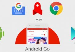 Android Go logo 245x170