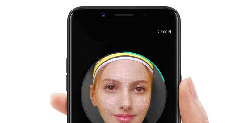 OPPO F5 Youth Facial Unlock