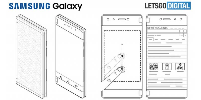 Samsung Dual Layar All