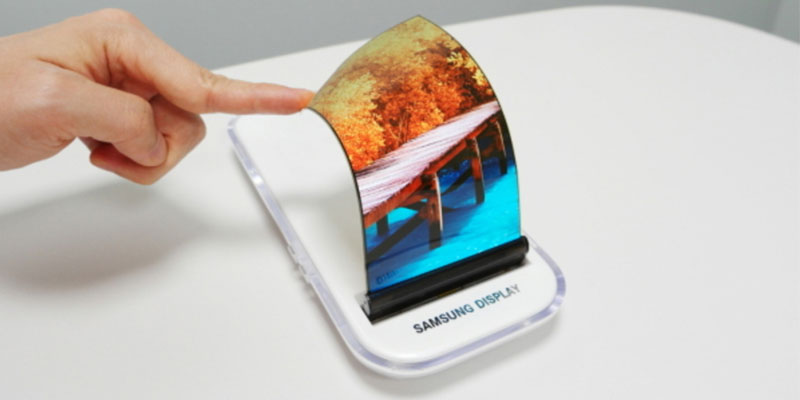 Flexible Screen Smartphone Samsung Galaxy X Confirmed Gliding 2018