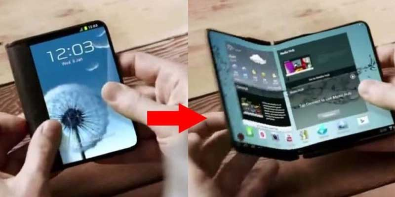 Foldable Smartphone Samsung Have Similar 3D Touch Technology