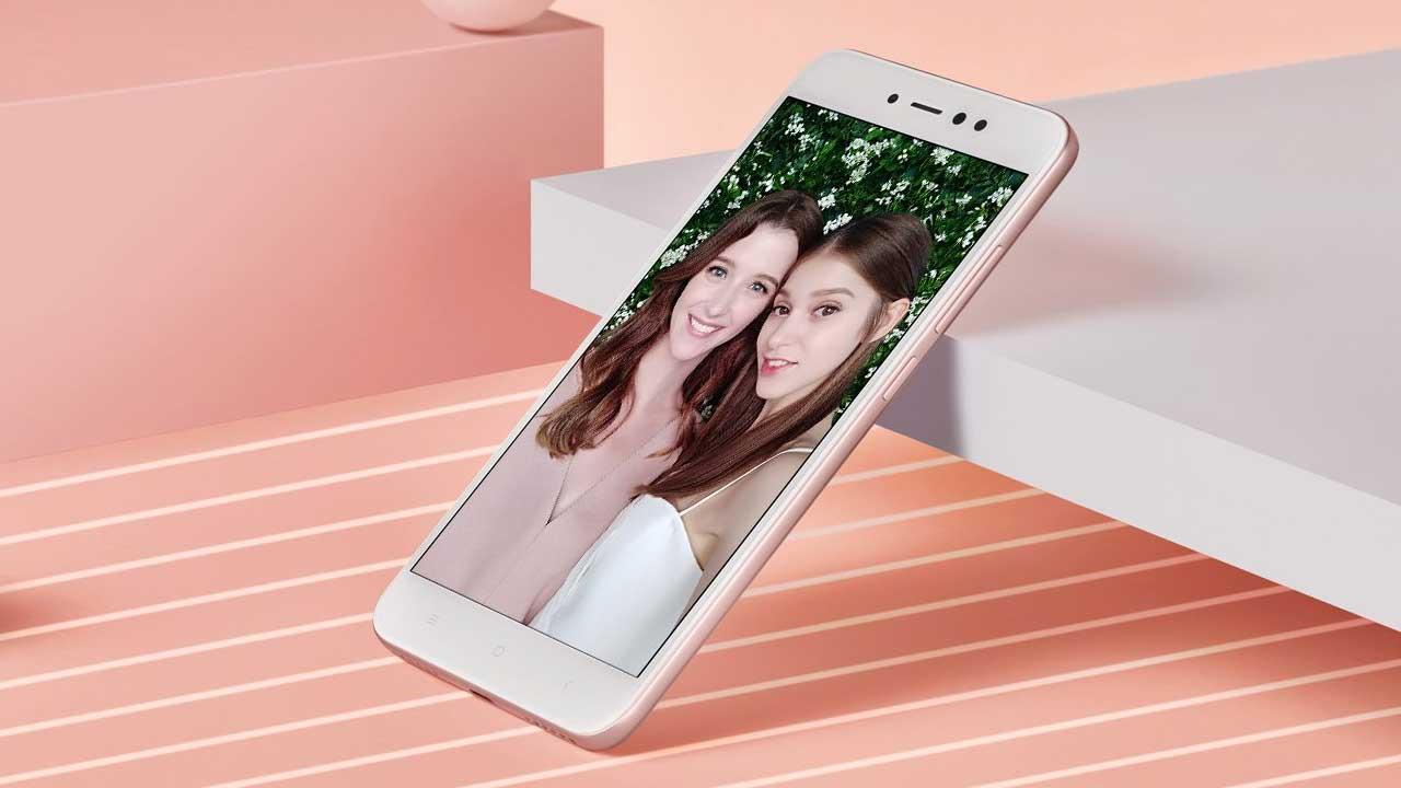 Xiaomi Redmi Note 5A Prime Depan