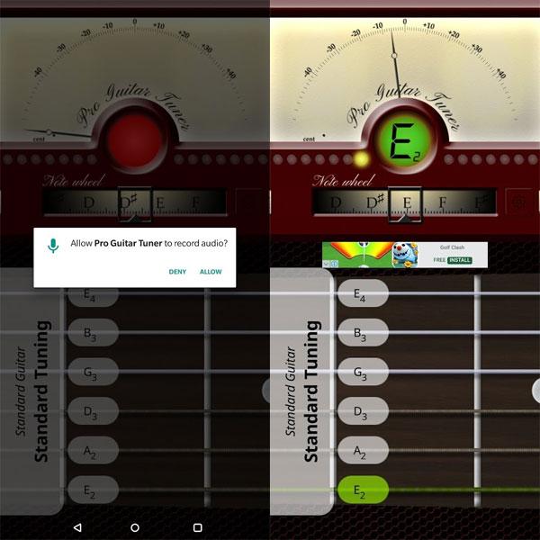 cara stem gitar dengan android 1