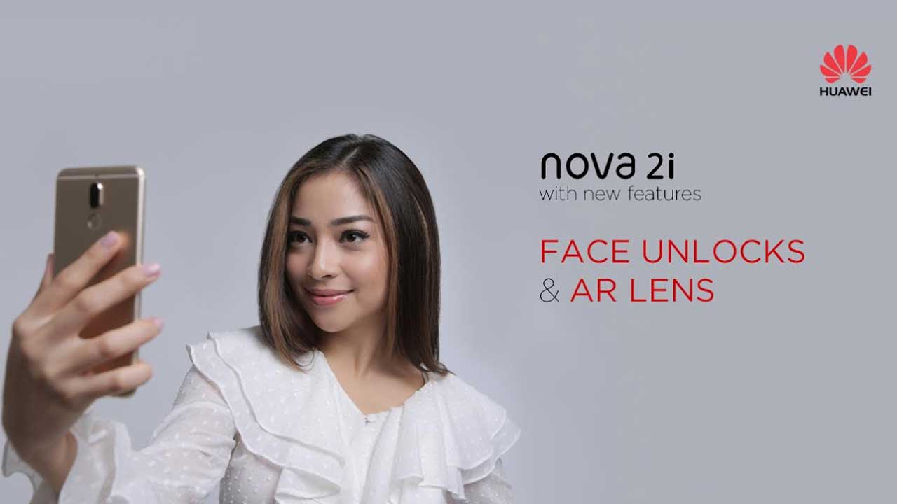 Huawei Nova 2i Face Unlock
