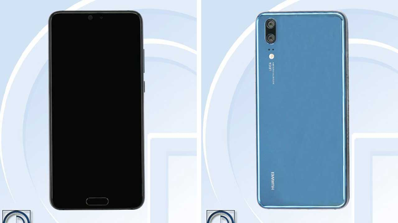 Huawei P20 Leak TENAA