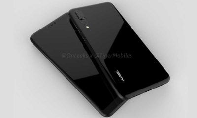 Huawei P20 Plus Leak Render 3D 400x240