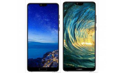 Huawei P20 dan P20 Plus Desain Layar Penuh 400x240