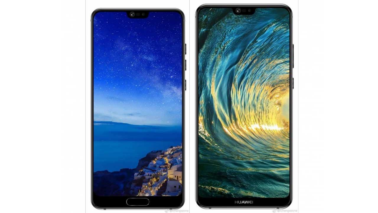 Huawei P20 dan P20 Plus Desain Layar Penuh