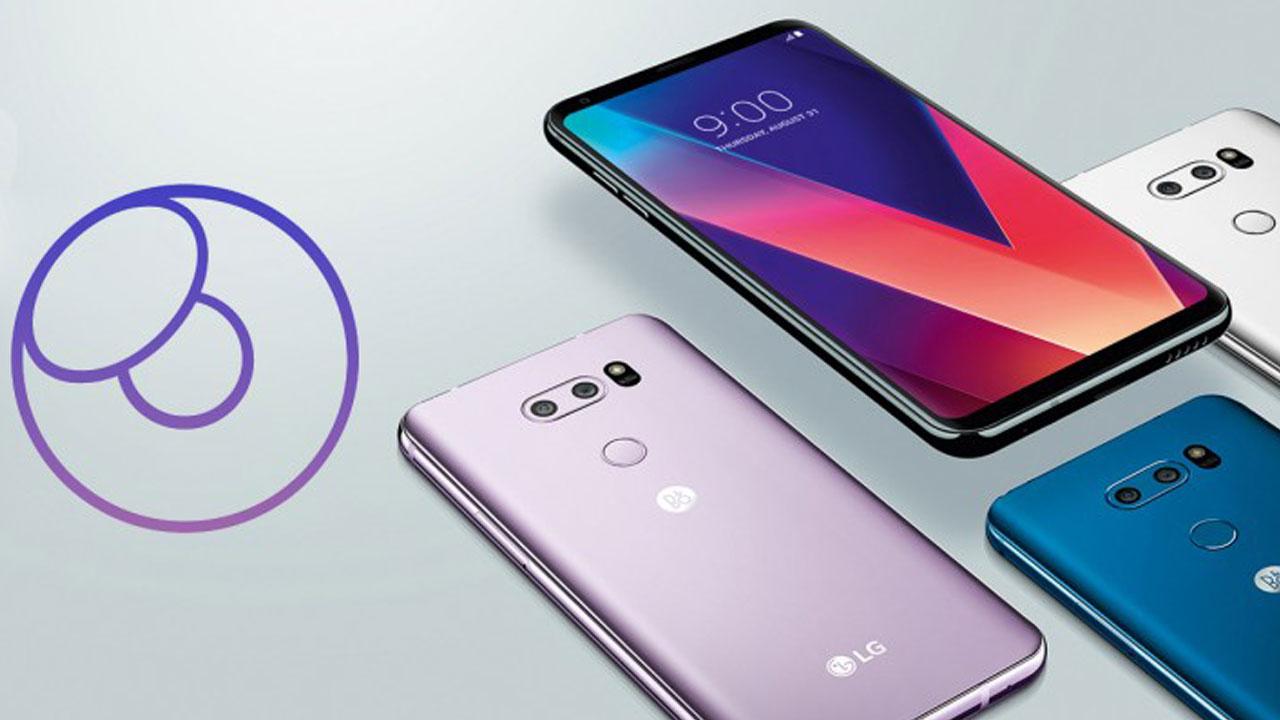 LG V30s 256 GB MWC 2018