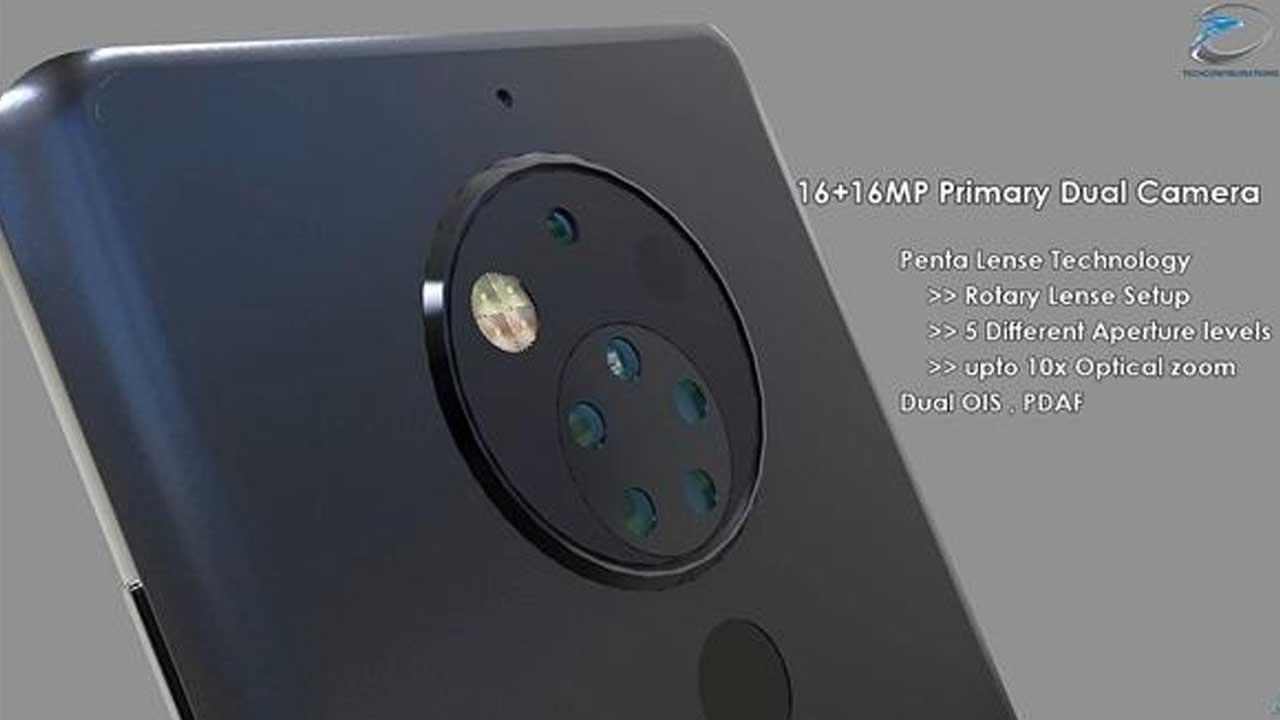Nokia 10 Penta Lens