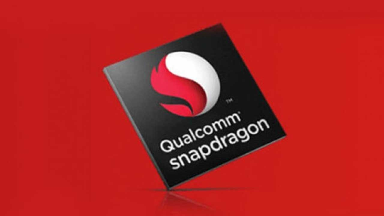 Qualcomm Snapdragon Red