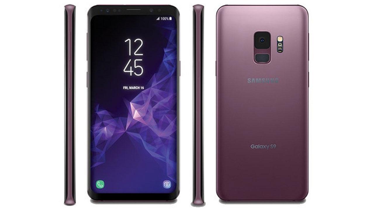 Samsung Galaxy S9 Rasio Screen to Body