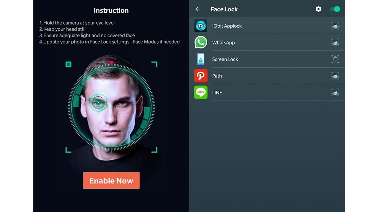 face lock android 2