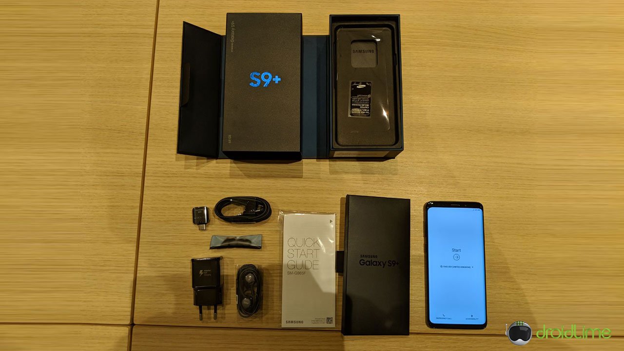 unboxing galaxy s9 1 1