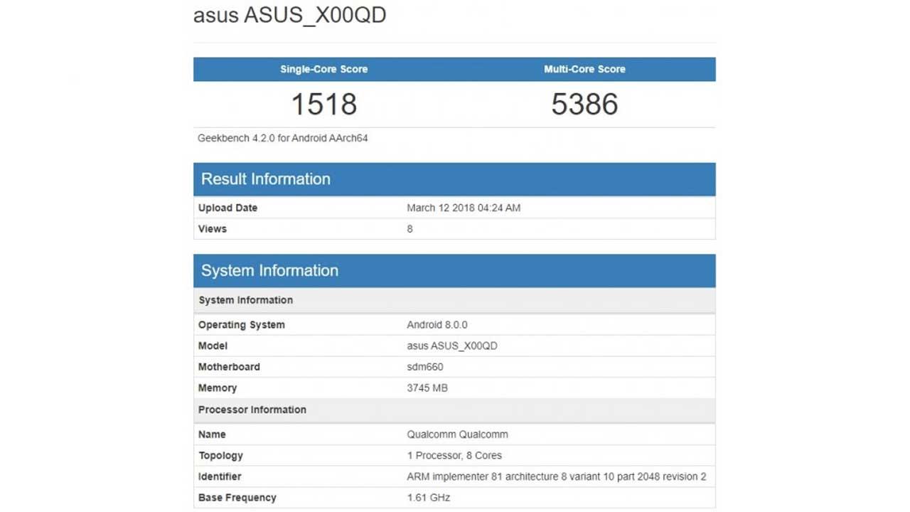 ASUS ZenFone 5 Max 2