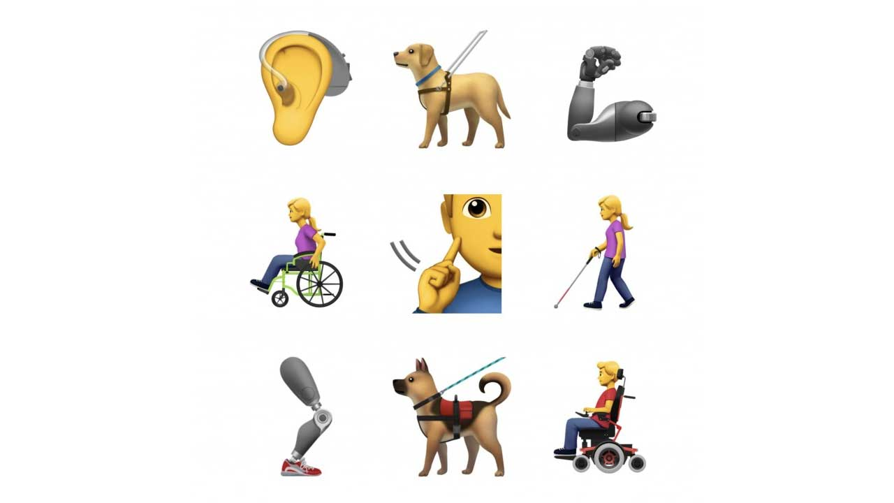 Emoji Disabilitas Apple