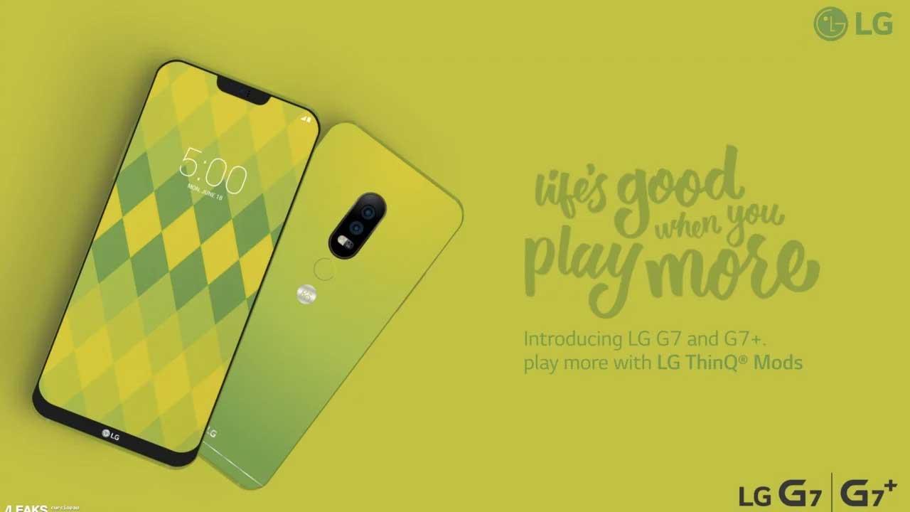 LG G7 Green 1
