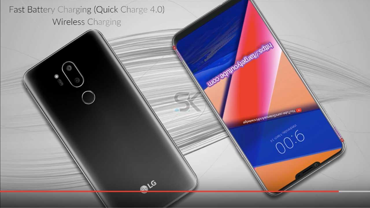 LG G7 SK Concept