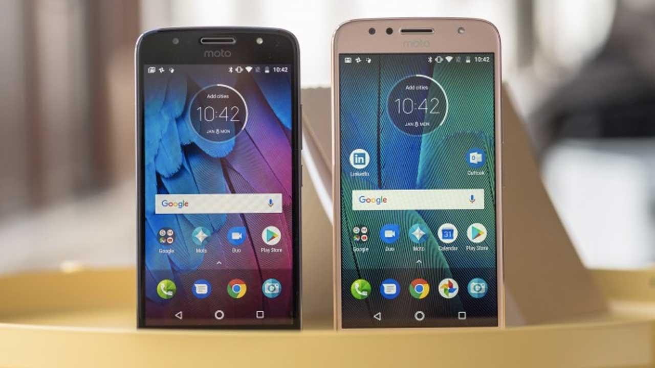 Motorola G6 dan E5 Series