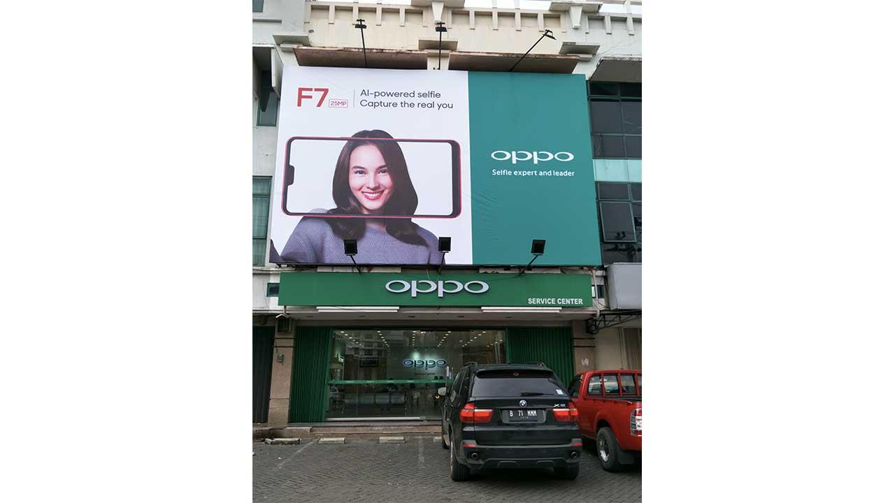 OPPO F7 Billboard